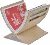 Tijdschriftenrek staand hout