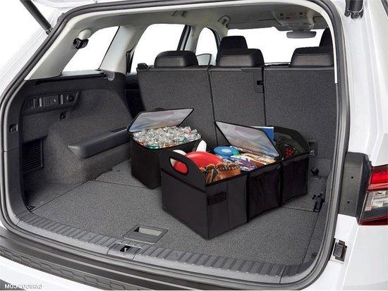 Autostyle Kofferbak Organizer 60 Liter Polyester Zwart