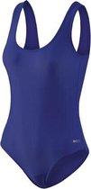 Beco Zwempak Dames Polyamide Donkerblauw Maat 44