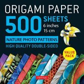Origami Paper 500 sheets Nature Photo Patterns 6 (15 cm)