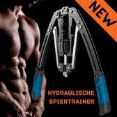 Armtrainer - Buigveer Fitness - Hydraulisch 20-200 kg - Chest Expander - Borst, Arm, Rug Trainer - Suspension Trainer - Rugtrainer