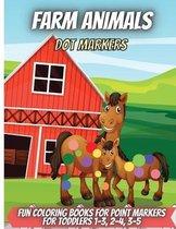 Farm Animals Dot Markers