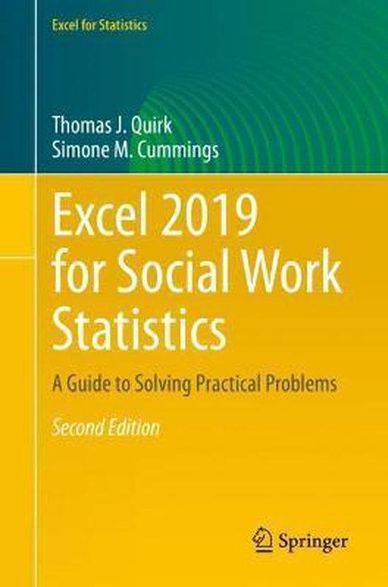 Excel 2019 for Social Work Statistics