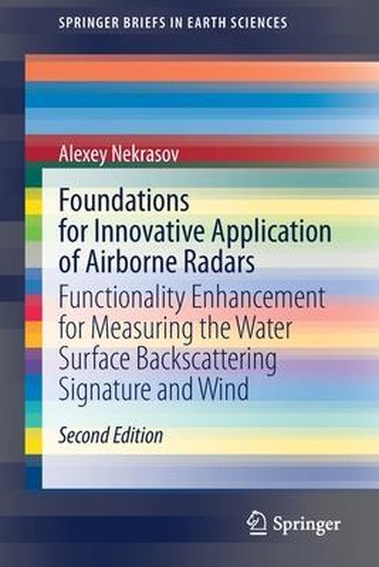 Boek cover Foundations for Innovative Application of Airborne Radars van Alexey Nekrasov (Paperback)