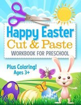 Happy Easter Cut and Paste Workbook for Preschool