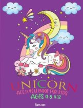 Unicorn Activity Book for Kids 4-8, 8-12 Ages