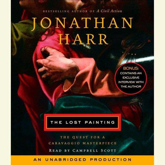 Boek cover The Lost Painting van Jonathan Harr (Onbekend)