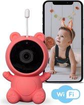Mommy's® H5 Babyfoon – Wereldwijd Bereik – 1080p Full HD – Nederlandse Handleiding – Babyfoon met Camera