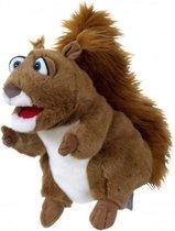 Living Puppets handpoppen dier Gerda de eekhoorn 29cm
