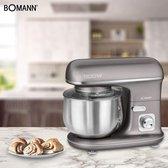 Bomann KM 6010 CB keukenmachine 5 l Titanium 1100 W