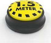 Soundbutton anderhalvemeter afstand (coronaproof) - sound button / knop met geluid - hebbeding, kantoorartikel