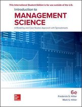 Hillier, F: ISE Introduction to Management Science