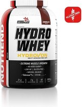 Nutrend - Hydro Whey (Chocolate - 800 gram) - Whey Protein - Eiwitpoeder