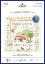 Happy Campers Aida Borduurpakket DMC