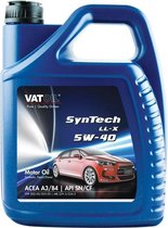 Vatoil Motorolie SynTech LL-X 5W-40 - 5 Liter