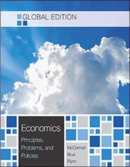 Boek cover Economics (Global Ed) van Campbell Mcconnell (Paperback)