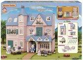 Sylvanian Families 3 huizen met accessoires Jubileum Set 35 jaar 5521