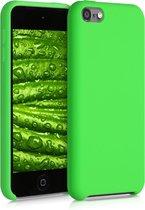kwmobile hoes voor Apple iPod Touch 6G / 7G (6de en 7de generatie) - Beschermhoes voor mediaspeler - Backcover in limoengroen