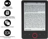 "Denver EBO-630L E-Reader - 6"" E-INK panel - voor lampje - 4 GB"