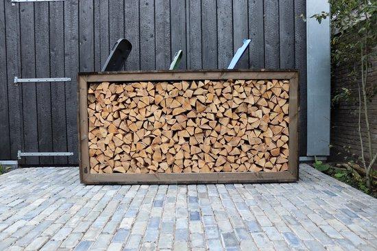Jan Bark® Douglas houten container ombouw/kliko ombouw/ houtopslag/divider. Makkelijk te plaatsen, multifunctioneel en duurzaamheidsklasse 3!
