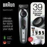 Braun BT7220 - Baardtrimmer - Zwart/Metaalgrijs