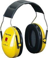 3M Peltor H510 Optime l Gehoorkap met hoofdbeugel - Geel