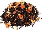Appeltaart Thee - De Gouden Kat - Zwarte thee met echte stukjes Appel en Kaneel - 75 gram