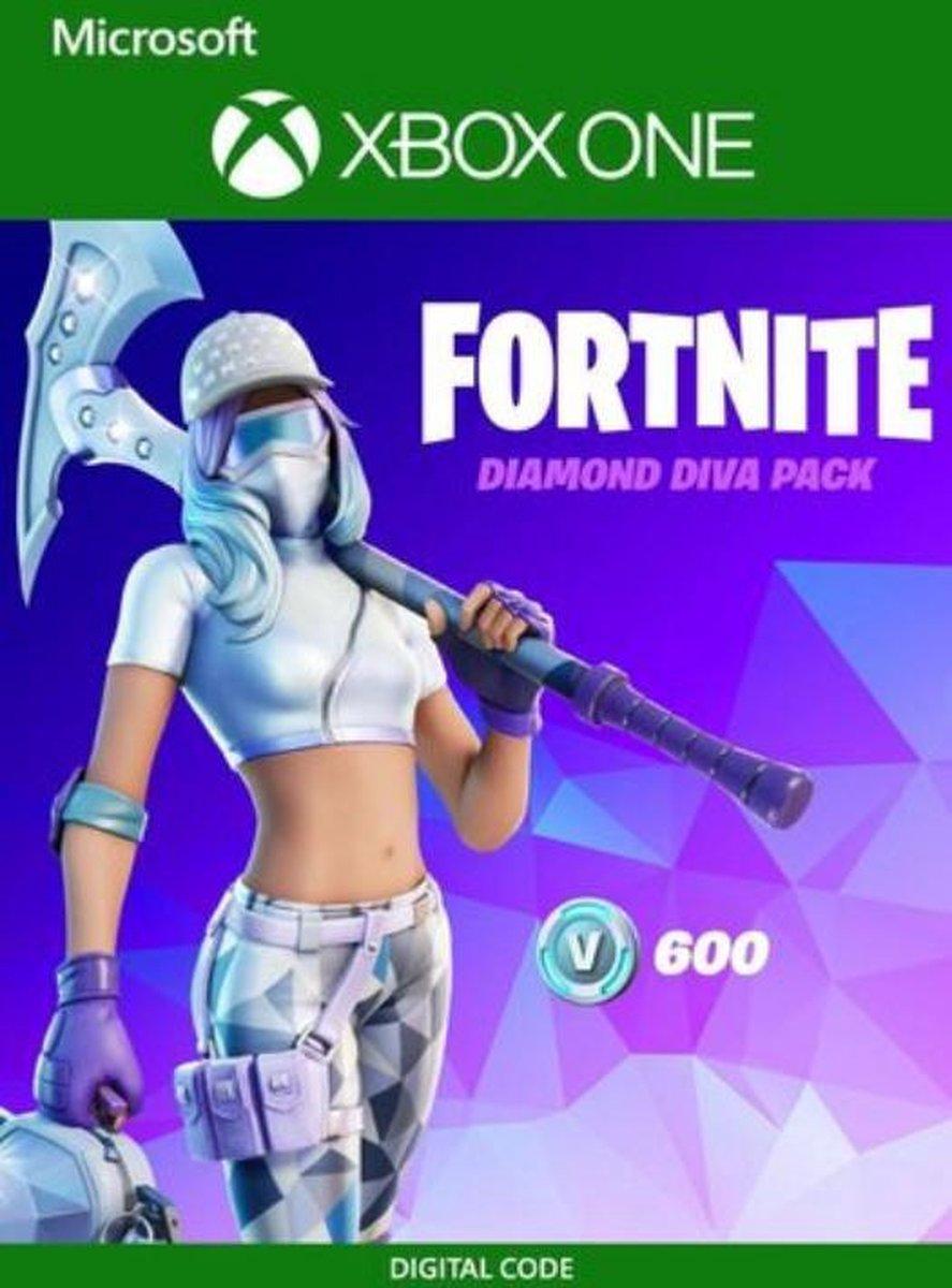 Fortnite Daimond Diva Pack - Fortnite Bundel Xbox One - 600 V-Bucks - Download Code