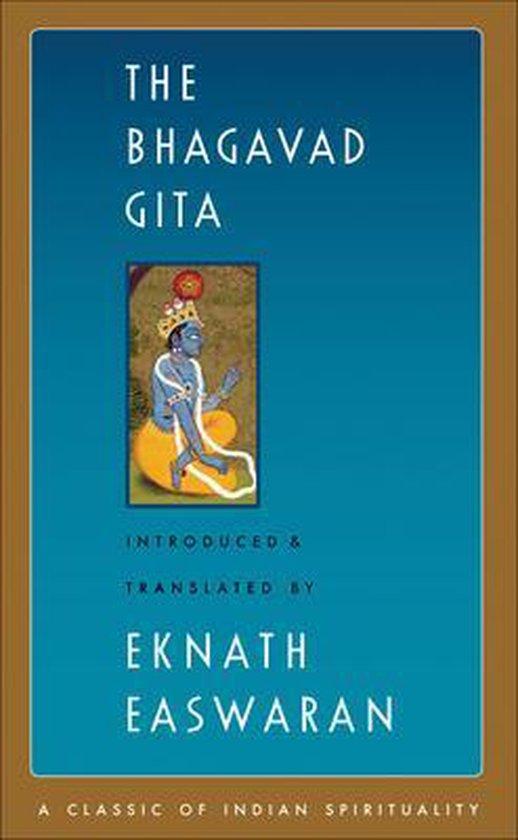 Boek cover The Bhagavad Gita van Eknath Easwaran (Paperback)