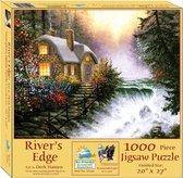 River's Edge Sunsout - 1000 stukjes - Legpuzzel