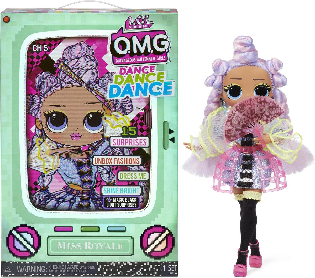 L.O.L. Surprise! OMG Dance Miss Royale - Modepop