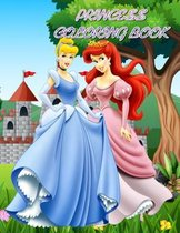 Princess Coloring Book: Great Coloring Pages for Kids! - Cute Princess Coloring Book, Perfect for Girls