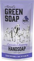 Marcel's green soap navulling lavendel rozemarijn 500 ml