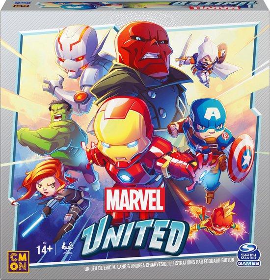 Afbeelding van het spel Spin Master Games Marvel United, coöperatief strategisch superheldenkaartspel, voor volwassenen en kinderen vanaf 8 jaar