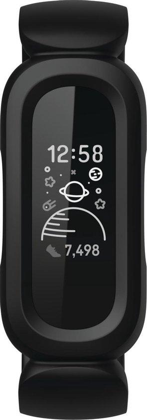 Fitbit Ace 3 Kids - Activity tracker - Zwart/Rood