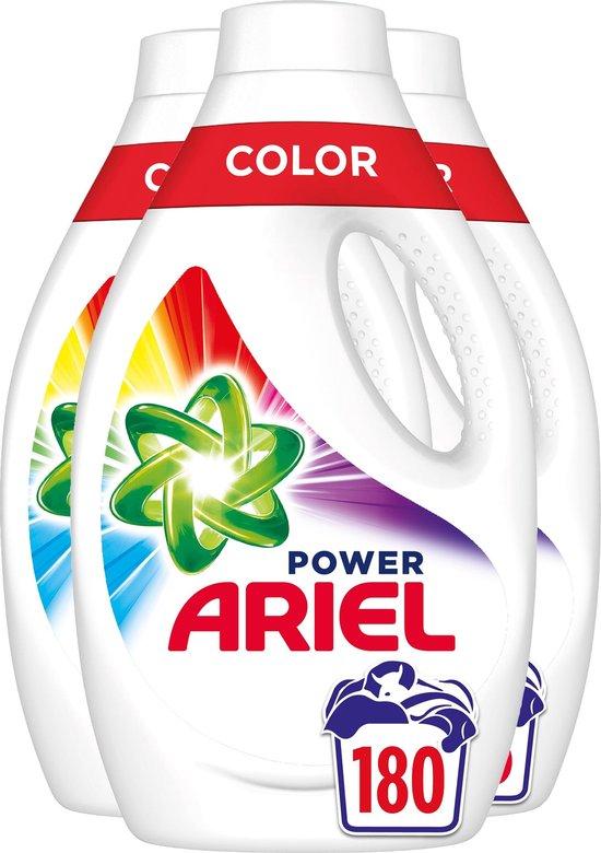 Ariel Color Reveal Wasmiddel - Voordeelverpakking 4 x 45 Wasbeurten - Vloeibaar Wasmiddel