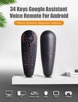 G30 Google Assistant Voice Control 34 Key Remote