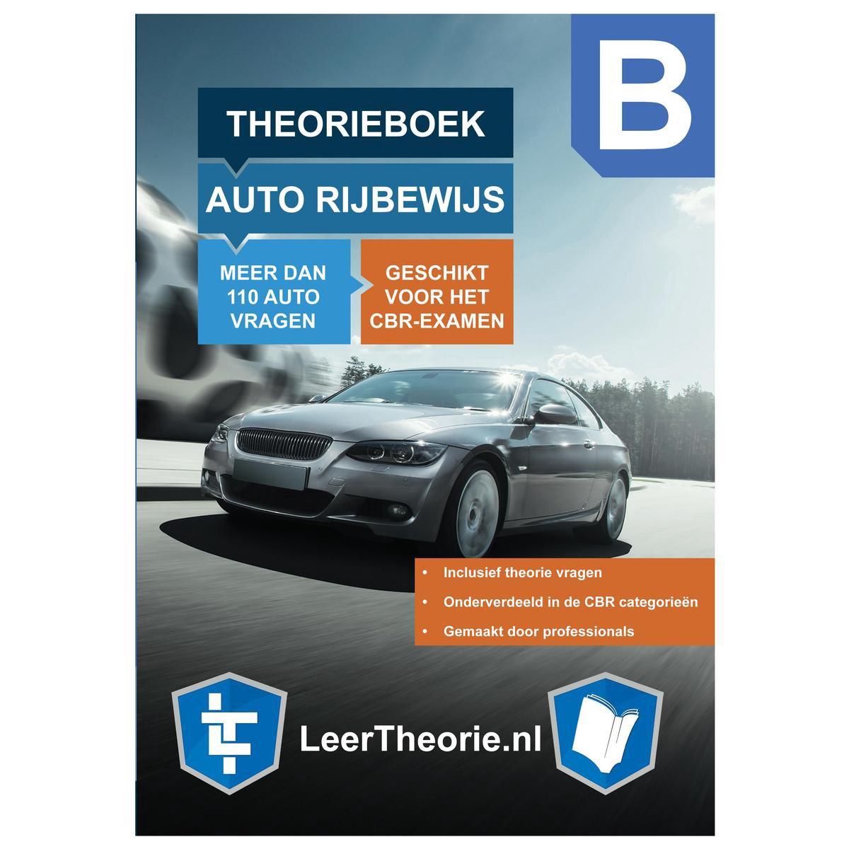 AutoTheorieboek Rijbewijs B 2021 - Nederland - CBR AutoTheorie Boek Leren