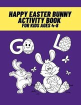 Happy Easter Bunny Activity Book for Kids Ages 4-8