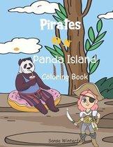 Pirates on Panda Island Coloring Book