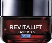 L'Oréal Paris Skin Expert Revitalift Laser X3 nachtcrème - anti-rimpel - 50 ml