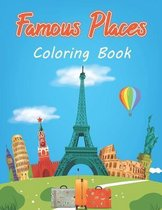 Famous Places Coloring Book