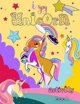 I Spy Unicorn Activity Book