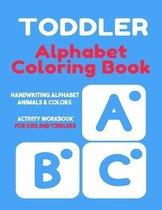 Toddler Alphabet Coloring Book