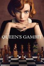 The Queen's Gambit poster schaken Netflix serie  Damegambiet  Beth Harmon 61 x 91.5 cm.