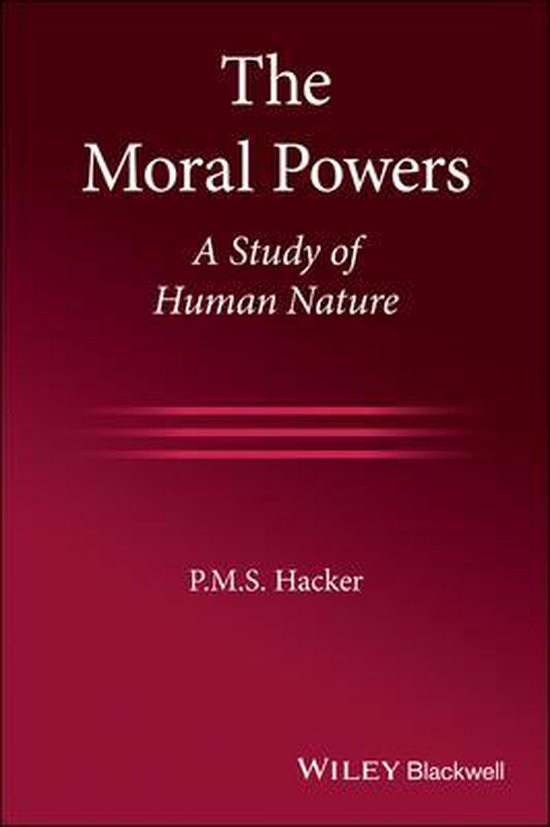 Boek cover The Moral Powers van P. M. S. Hacker (Paperback)