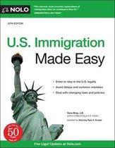 Boek cover U.S. Immigration Made Easy van Ilona Bray