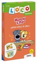Loco Bambino  -   Loco bambino Woezel & Pip pakket letters & cijfers