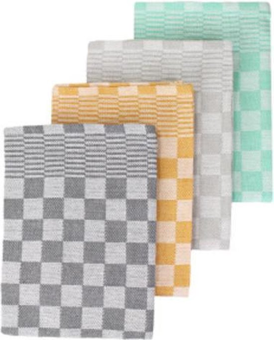 Keukentextiel Set – 12 Stuks – Theedoeken