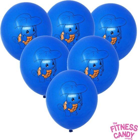 POKEMON Squirtle Ballonnen - Set van 6